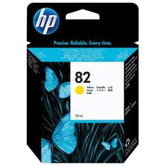 Картридж струйный для плоттера HP (CH568A) Designjet 510/<wbr/>500/<wbr/>500 Plus/<wbr/>500PS, №82, желтый, 28 мл