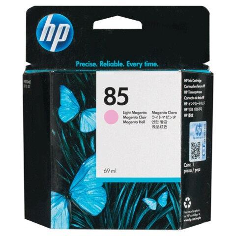 Картридж струйный для плоттера HP (C9429A) Designjet 130/<wbr/>90/<wbr/>30, №85, светло-пурпурный, 69 мл