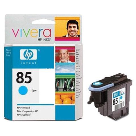 Головка печатающая для плоттера HP (C9420A) Designjet 130/90/30, №85, голубая, оригинальная