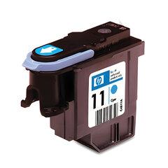 Головка печатающая для плоттера HP (C4811A) Designjet 510/<wbr/>CC800PS/ 800/<wbr/>500 и др., №11, голубая