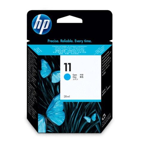 Картридж струйный HP (C4836A) DesignJet 70/<wbr/>100/<wbr/>110/<wbr/>120, №11, голубой, оригинальный, ресурс 2350 стр.