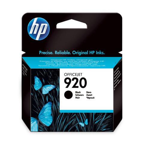 Картридж струйный HP (CD971AE) Officejet 6000/<wbr/>6500/<wbr/>7000, №920, черный, оригинальный, ресурс 420 стр.