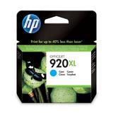 Картридж струйный HP (CD972AE) Officejet 6000/<wbr/>6500/<wbr/>7000, №920, голубой, оригинальный, 700 стр.