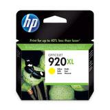 Картридж струйный HP (CD974AE) Officejet 6000/<wbr/>6500/<wbr/>7000, №920, желтый, оригинальный, ресурс 700 стр.