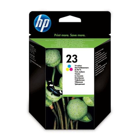Картридж струйный HP (C1823DE) Deskjet 710с/<wbr/>20с/<wbr/>810c/<wbr/>80c/<wbr/>95cxi, №23, цветной, оригинальный, 620 стр.