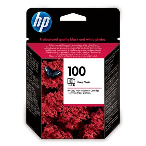 Картридж струйный HP (C9368AE) Deskjet 6840/<wbr/>Officejet 7410 и др., №100, фото серый, оригинальный