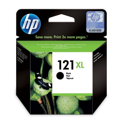 Картридж струйный HP (CC641HE) Deskjet D2500/<wbr/>2530/<wbr/>F4200, №121XL, черный, оригинальный, 600 стр.