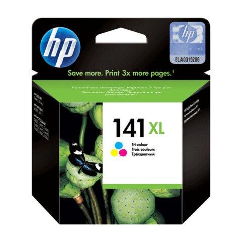Картридж струйный HP (CB338HE) OfficeJet J5700/<wbr/>Deskjet D4200 и др., №141XL цветной, оригинальный