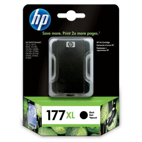 Картридж струйный HP (C8719HE) Photosmart 8250/<wbr/>3210/<wbr/>3310, №177XL, черный, оригинальный, 1000 стр.