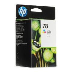 Картридж струйный HP (C6578AE) Deskjet 920/<wbr/>990/<wbr/>1220 и др., №78, цветной, оригинальный, 1200 стр.