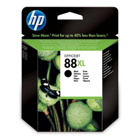 Картридж струйный HP (C9396AE) Officejet Pro K550 и др., №88XL, черный, оригинальный, 2450 стр.