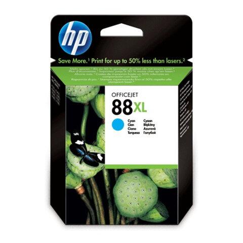 Картридж струйный HP (C9391AE) Officejet Pro K550 и др., №88XL, голубой, оригинальный, 1700 стр.