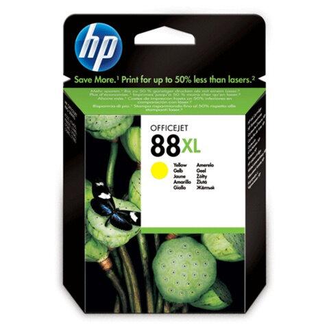 Картридж струйный HP (C9393AE) Officejet Pro K550 и др., №88XL, желтый, оригинальный, 1540 стр.