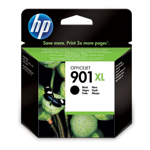 Картридж струйный HP (CC654AE) Officejet J4580/<wbr/>4640/<wbr/>4680 и др., №901XL, черный, оригинальный