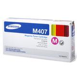 Картридж лазерный SAMSUNG (CLT-M407S) CLP-320/<wbr/>325/<wbr/>N, CLX-3185/<wbr/>N/FN и др., оригинальный, пурпурный