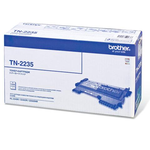 Картридж лазерный BROTHER (TN2235) HL-2240R/2240DR/2250DNR и другие, оригинальный, ресурс 1200 страниц