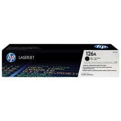 Картридж лазерный HP (CE310A) LaserJet CP1025/<wbr/>CP1025NW, черный, ориг., ресурс 1200 стр.