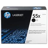 Картридж лазерный HP (CE255X) LaserJet P3015d/<wbr/>P3015dn/<wbr/>P3015x, №55X, оригинальный, ресурс 12500 стр.