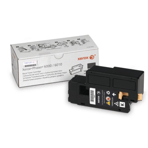 Картридж лазерный XEROX (106R01634) Phaser 6000/<wbr/>6010N, оригинальный, черный, ресурс 2000 стр.