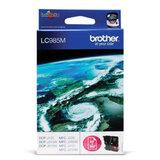 Картридж струйный BROTHER (LC985M) DCP-J315W/<wbr/>J515W/<wbr/>MFC-J265W, пурпурный, оригинальный, рес. 260 стр.