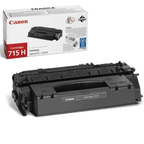 Картридж лазерный CANON (715) LBP3310/<wbr/>3370, оригинальный, ресурс 3000 стр.