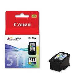 Картридж струйный CANON (CL-511) Pixma MP240/<wbr/>MP260/<wbr/>MP480, цветной, оригинальный, ресурс 244 стр.