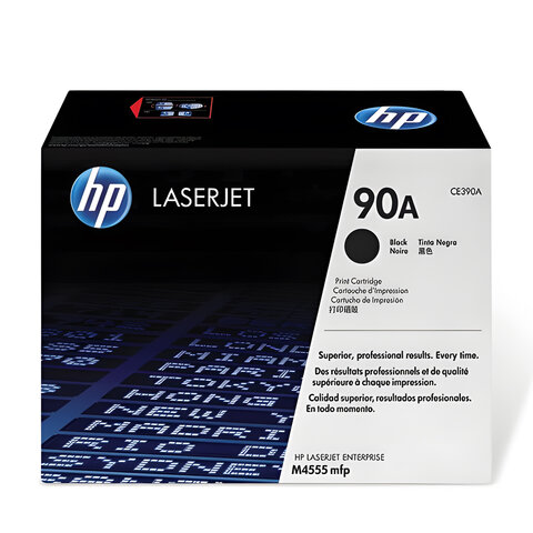 Картридж лазерный HP (CE390A) LaserJet M601n/M602n/M603n, №90A, оригинальный, ресурс 10000 стр.