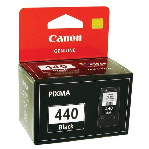 Картридж струйный CANON (PG-440) Pixma MG2140/PIXMA MG3140/PIXMA MG4140, черный, оригинальный