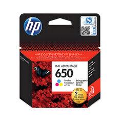 Картридж струйный HP (CZ102AE) Deskjet Ink Advantage 2515/<wbr/>2516 №650, цветной, оригинальный