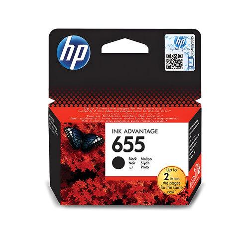 Картридж струйный HP (CZ109AE) Deskjet Ink Advantage 3525/<wbr/>5525/<wbr/>4515/<wbr/>4525 №655, черный, оригинальный