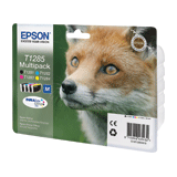 �������� �������� EPSON (C13T12854010) Stylus S22/<wbr/>SX125/<wbr/>SX420W/<wbr/>SX425/<wbr/>BX305FW, ��������, ����., 4 ��.