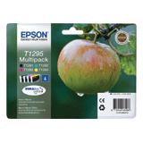 �������� �������� EPSON (C13T12954010) Stylus SX230/<wbr/>SX430/<wbr/>WF7015 /7515/<wbr/>7525, ��������, ����., 4 ��.