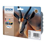 Картридж струйный EPSON (C13T10854A10) Stylus C91/<wbr/>CX4300/<wbr/>Photo T26/<wbr/>T27/<wbr/>TX106, комплект, ориг., 4 цв.