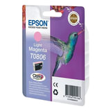 Картридж струйный EPSON (C13T08064011) Stylus P50/<wbr/>PX660/<wbr/>PX700W/<wbr/>RX685/<wbr/>R360, светло-пурпурный, ориг.