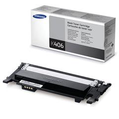 Картридж лазерный SAMSUNG (CLT-K406S) CLP-365/<wbr/>365W, CLX-3300/<wbr/>3305W и другие, оригинальный, черный