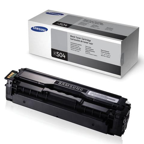 Картридж лазерный SAMSUNG (CLT-K504S) CLX-4195FN/4195FW и CLP-415N и другие, оригинальный, черный, ресурс 2500 стр.