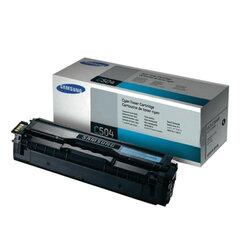 Картридж лазерный SAMSUNG (CLT-C504S) CLX-4195FN/<wbr/>4195FW и CLP-415N и др., ориг., голубой, 1800 стр.