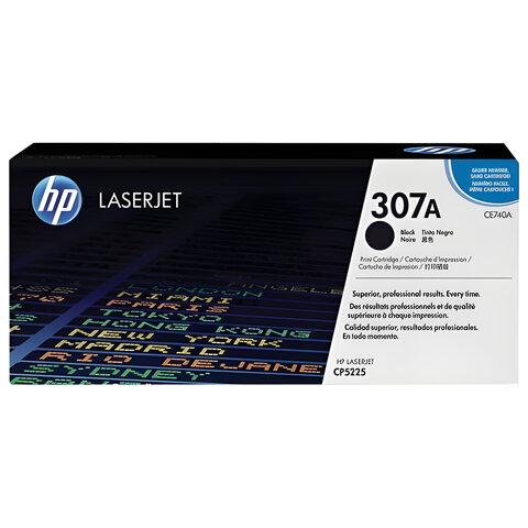 Картридж лазерный HP (CE740A) LaserJet CP5225/5225N, черный, оригинальный, ресурс 7000 стр.