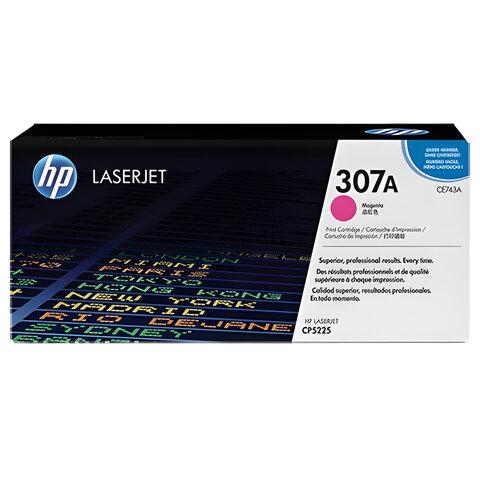 Картридж лазерный HP (CE743A) LaserJet CP5225/<wbr/>5225N, пурпурный, оригинальный, ресурс 7300 стр.