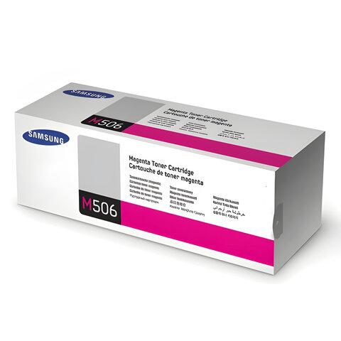 Картридж лазерный SAMSUNG (CLT-M506S) CLP-680/CLX-6260, оригинальный, пурпурный, ресурс 1500 стр.