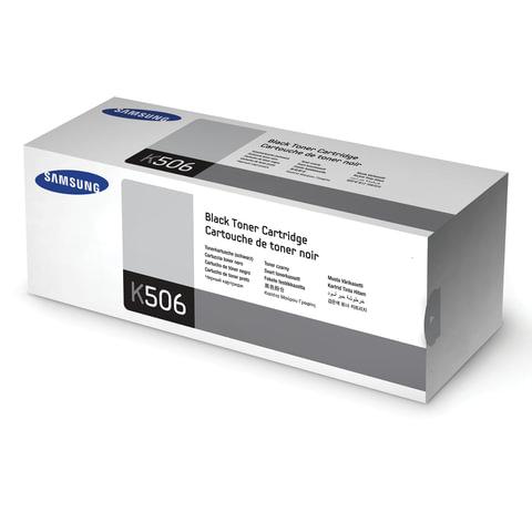 Картридж лазерный SAMSUNG (CLT-K506S) CLP-680/CLX-6260, оригинальный, черный, ресурс 2000 стр.