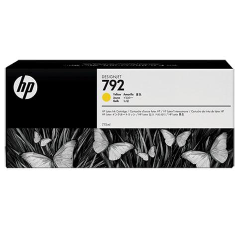 Картридж струйный HP (CN708A) DesignJet L26500, №792, жёлтый, ориг