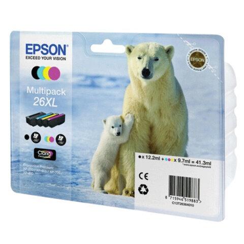 Картридж струйный EPSON (C13T26364010) Expression Premium XP-600/800, комплект, оригинальный