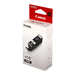 Картридж струйный CANON (PGI-450PGBk) Pixma iP7240 и другие, черный, фото, оригинальный