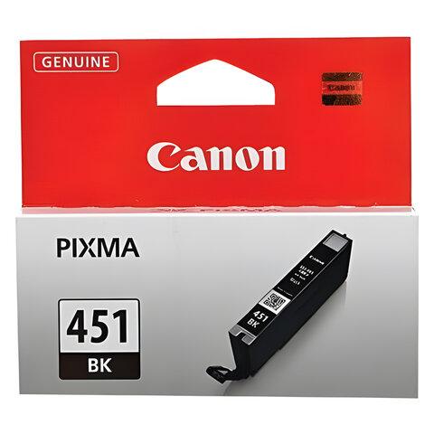 Картридж струйный CANON (CLI-451Bk) Pixma iP7240 и другие, черный, оригинальный