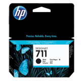 Картридж струйный для плоттера HP (CZ129A) DesignJet T120/<wbr/>T520, №711, черный, оригинальный