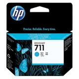Картридж струйный для плоттера HP (CZ130A) DesignJet T120/<wbr/>T520, №711, голубой, оригинальный