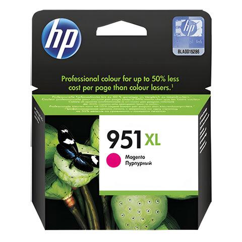 Картридж струйный HP (CN047AE) OfficeJet 8100/<wbr/>8600 №951XL, пурпурный, оригинальный
