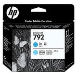 Головка печатающая для плоттера HP (CN703A) DesignJet L26500, №792, светло-голубая и голубая, ориг.
