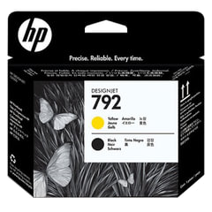Головка печатающая для плоттера HP (CN702A) DesignJet L26500, №792, черная и желтая, оригинальная
